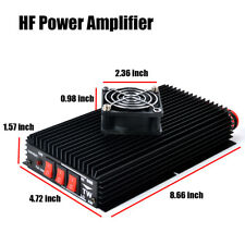 3-30MHz HF Power Amplifier For ham Handheld two way radio + Cooling Fan