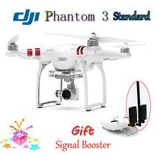 DJI Phantom 3 Standard 2.4G 6CH GPS Drone with 2.7K HD Camera & Signal Booster