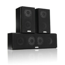 100W HiFi Dual Treble Center Channel Surround Sound Home Theater Speaker System