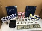 junk+drawer+lot+silver+coins%2C+currency+And+Collectibles