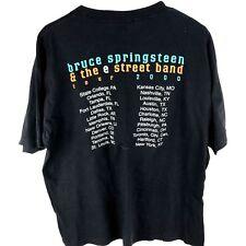 2b370652 2000 Bruce Springsteen E Street Concert T-shirt Tour Tee Mens XL Black Shirt