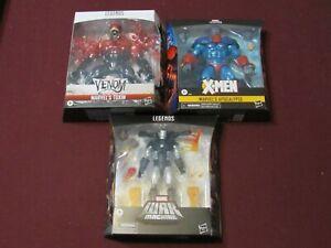 Marvel Legends Lot of 3 (Apocalypse, War Machine, & Toxin)  (NEW)