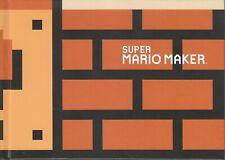 Nintendo Super Mario Maker Artbook im sehr guten Sammler Zustand