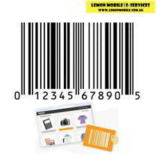 UPC EAN Codes Numbers Barcode For Amazon Listing Product Code Retail Label GTIN