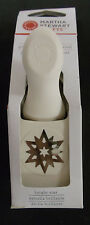 X RARE Martha Stewart - Stunner BRIGHT STAR PUNCH - NEW BOX Christmas card tags