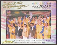 Malaysia 1998 KL Commonwealth Games Glorious Moments MS Mint Unused