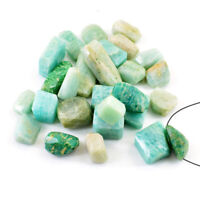Amazing 373.00 Carats Natural Untreated Amazonite Faceted Drilled Beads Lot
