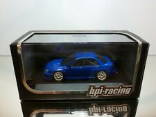 HPI-RACING 935 FUJITSUBO SUBARU IMPREZA 2005 - BLUE 1:43 - EXCELLENT CONDITION