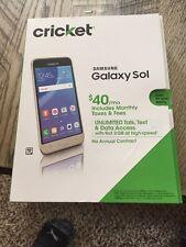 BRAND NEW SEALED PKG Cricket Wireless Samsung GALAXY SOL smartphone 4G LTE
