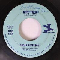 Jazz 45 Oscar Peterson - On A Clear Day / Girl Talk On Prestige