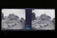Cap Sicié Six-Fours Francia Foto Stereo 8n9 Placca Lente Vintage Negativo 1935