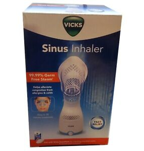 Vicks Personal Sinus Steam Inhaler with Soft Face Mask Face Humidifier NEW