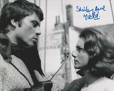 Shirley Anne Field Signed 8x10 Photo - THE DAMNED Depicted with Oliver Reed G197