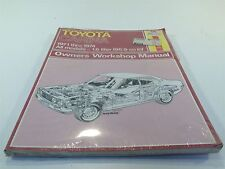 1971-1974 Toyota Carina All Models Owners Workshop Manual Haynes New Old Stock