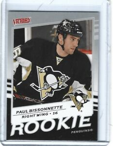 Paul Bissonnette 2008-09 Upper Deck Victory RC Card #311  **Quantity Available**