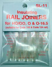 Peco Insulating Rail Joiners SL-11 HO/OO