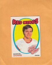 1971-72 O PEE CHEE MARCEL DIONNE NO:133 ROOKIE   NEAR MINT