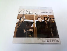 """CELINE DION & THE BEE GEES """"IMMORTALITY"""" CD SINGLE 2 TRACKS"""