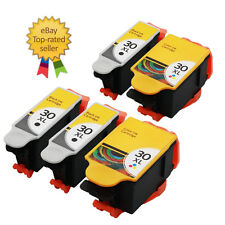 5 Ink  Kodak 30 XL Black & Colour Replace for ESP C110 C310 C315 Printer