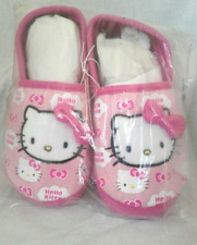 Brand New Hello Kitty Pink Slippers - Toddler Girls - Size 11-12 NWT