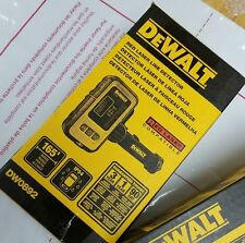 DEWALT DW0892 Digital Laser Line Detector with Detector Clamp, Red Laser