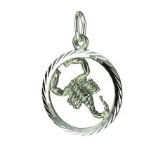 Anhänger Sternzeichen Skorpion 925 Silber C-12002-7