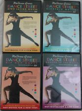 4 MaDonna Grimes Dance Street DVD set lot Hip Hop Moves Groove to the electric