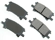 Rear Disc Brake Pads Akebono ProACT for Toyota Highlander Lexus RX350 RX400h