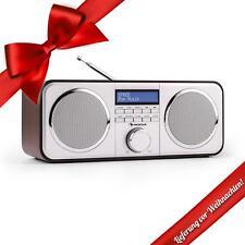 DAB+ Radio Wecker Digitalradio Display Uhr UKW Tuner Bluetooth Lautsprecher AUX