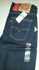 New Men's Levis 510 Skinny Fit Jeans stretch dark blue W 29 L 32