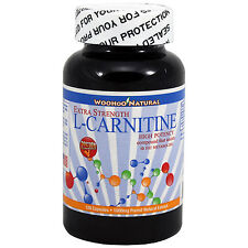 Extra Strength L-Carnitine 500 mg Fat Burn HIGH POTENCY 120 Caps MAKE IN USA
