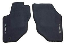 1996-2005 Mercury Sable OEM Custom Logo Factory Floormats Dark Denim Blue