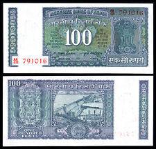 INDIA 100 RUPEES (P64c) N. D. NARASIMHAM UNC