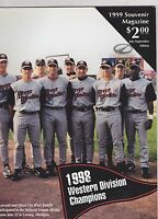 1999 QUAD CITY RIVER BANDITS  minor league baseball yearbook