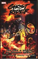 Marvel Ghost Rider Life & Death of Johnny Blaze Trade Paperback TPB New & Unread