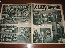 IL CALCIO ILLUSTRATO 1949/26 TORINO COPPA LATINA MONACO 1860 ROMA SERIE B