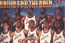1996 Dream Team Going for the Gold Original Starline Poster OOP Shaq Hakeem