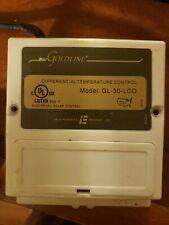 Goldline Gl-30 Solar Differential Temperature Controller uses 10k sensors
