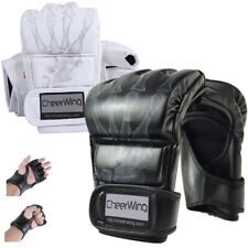 MMA UFC Sparring Grappling Training Boxing Gloves Punch Ultimate Mitts Leather