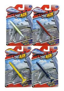Air Power Die-cast Metal & Plastic Airplane Toy, Lot of 4 Airplanes, Ages 3+