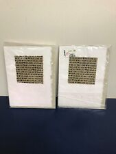 2 Chicos Handmade Valentines Cards Mulberry Paper New Blank Inside Greeting Card