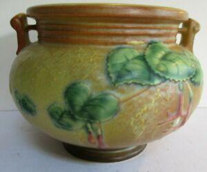 Roseville Fuchsia 645-4 Bowl Yellow