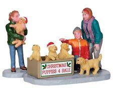 LEMAX CHRISTMAS PUPPIES / WEIHNACHTSDORF