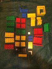 Lot of 32 Pcs. Vintage Lego Duplo Bricks