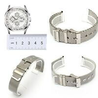 18-22 mm Chic Stainless Steel Mesh Watch Band Strap Bracelet Replacement Unisex