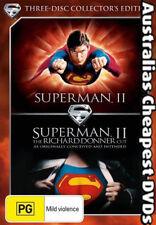 Superman II (3-Disc Set) DVD NEW, FREE POSTAGE WITHIN AUSTRALIA REGION 4