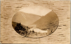 River Valley ME RPPC Vintage Postcard PBA