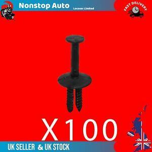 100X Bumper Wheel Arch Rivet Panel Retaining Trim Clips Fits Bmw 7 Series E38