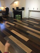 Laminate Flooring Mixed Colours. Looks Great