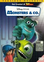 MONSTER & CO (2001) DVD EX NOLEGGIO - OLOGRAMMA TONDO - WALT DISNEY/PIXAR